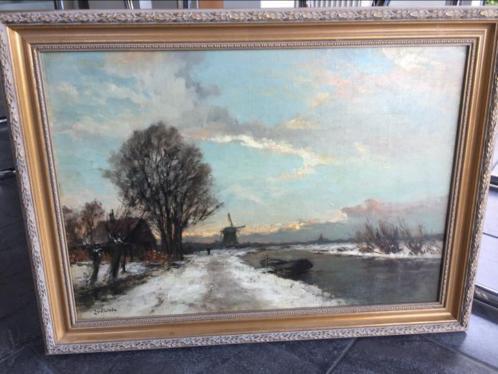 Schilderij van Jan van der Linde