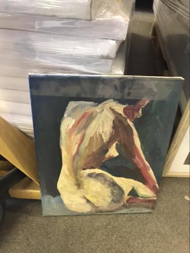 Grote partij schilderijen 33 stuks in 1 koop