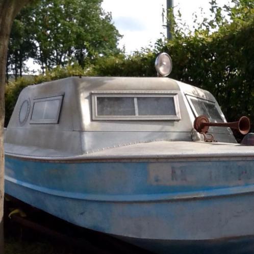 Te koop oude sports kraft vissersboot