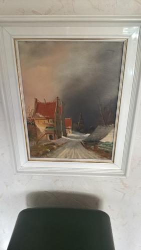 Schilderij Frits Meijer