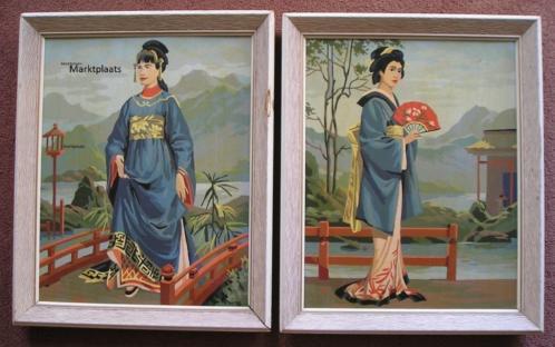 Schilderij 2st. (Japans)