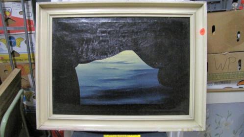 9270 - olieverf schilderij - van krieken 1969 - € 59