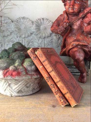 2 antieke Franse boekjes