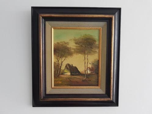 schilderij landschap / Boerderij/ Kunst
