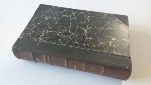 antiek boek verloskunde Prof. Hector Treub 1913