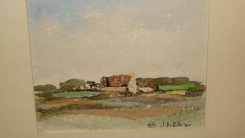 J. De Bolle landschap