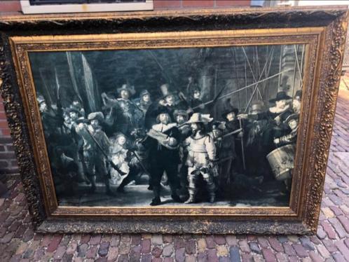 Prachtige Rembrandt Nachtwacht !