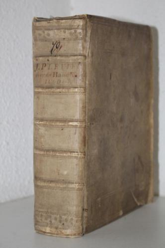 J. Plevier - Handelingen, dl 4 (1734, perkament + landkaart)