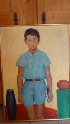 Emiel Adams (20ste eeuw) portretschilderij