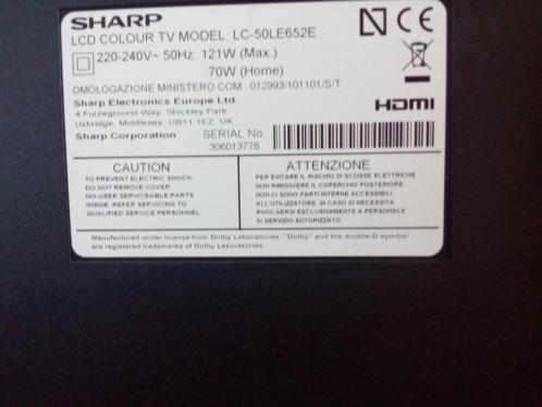 sharp LCD smart tv