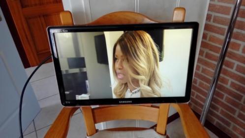Samsung tv 22 inch kleur zwart