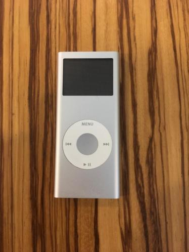 iPod nano 4GB zilver
