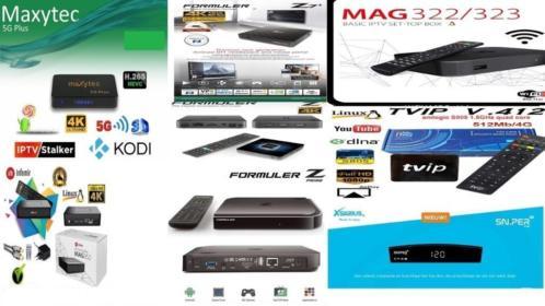 IPTV MAG 322/256/352 >TViP>Formuler>MAXYTEC >Xsarius SNIPER