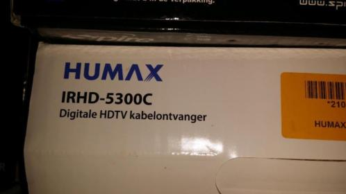 Digitale HDTV kabelontvanger humax model 5300c