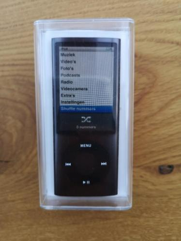 Ipod 16 Gb zwart incl. camera, radio & speaker