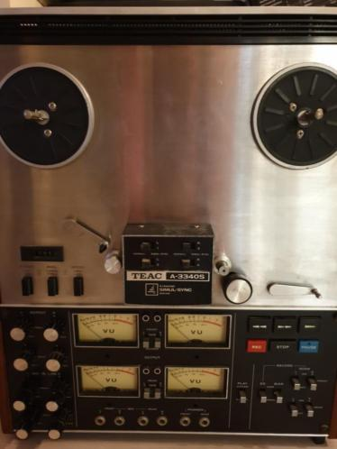 Teac Bandrecorder A-3340S 4 channel simul-Sync stereo