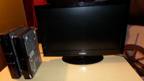 Led tv met DVDspeler