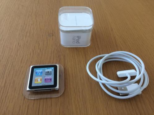 Ipod nano 16 GB zilver
