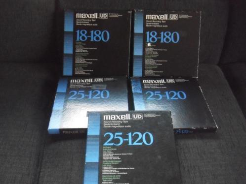 5 x maxell tape dozen