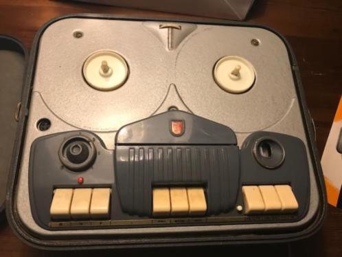 Vintage bandrecorder Philips Type EL3538 (audio/antiek)