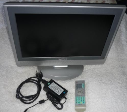 "Xiron DVTV 1928W LCD 19"" Met DVD-Speler + Afstandsbediening"