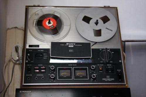 Bandrecorder, inclusief doos met banden, Sony