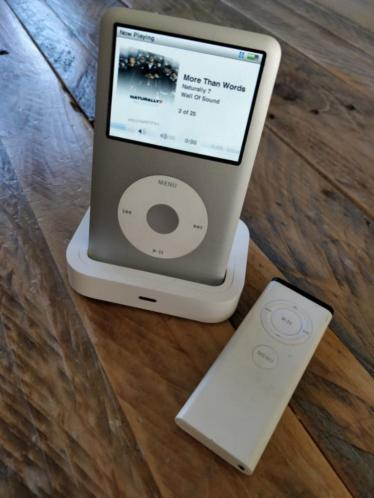 iPod Classic 80GB zilver