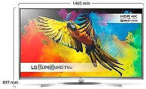 LG televisie type 65UH850V (demo met garantie)