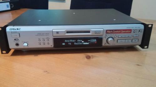 """Sony Minidisc Recorder MDS-JE530 voor 19""""rek"""