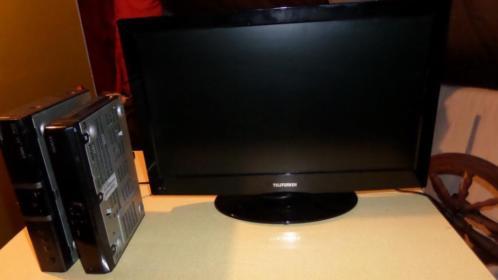 Led tv met DVDspeler