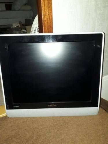 Leuke nette platte tv Philips 60 x 45 cm hangen of staan