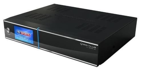 Gigablue UHD Quad 4K Enigma2 Linux ontvanger 2*DVB-S2
