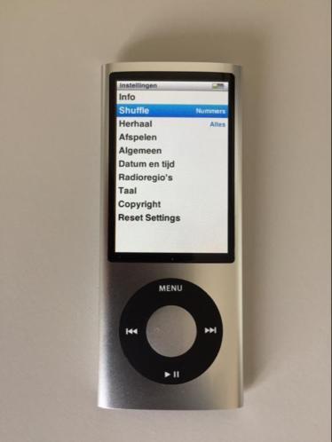 iPod nano 8GB, nieuwstaat