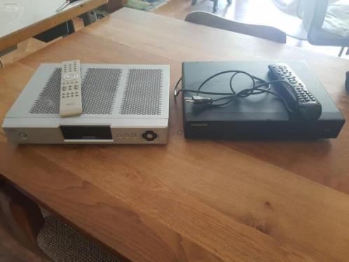 2 x tv ontvanger / decoders