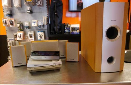 Pioneer XV-DV88 5.1 DVD speaker systeem | Nette staat