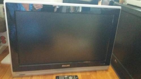Philips tv met afstandsbediening (hang)