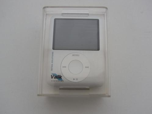 iPod nano 4GB - 3rd Gen Silver - Nieuw