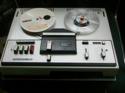 Telefunken magnetophon 410 spoelenrecorder zwaar model ( 11