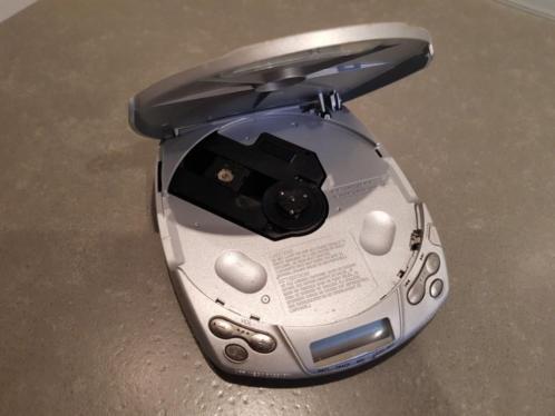 Sony d-191 discman ter reparatie of voor onderdelen.