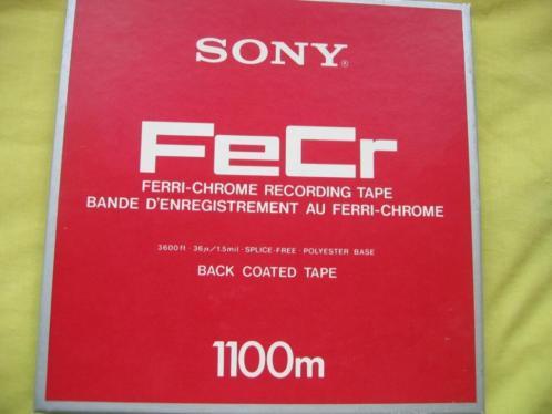 Sony tape 26,5cm NAB