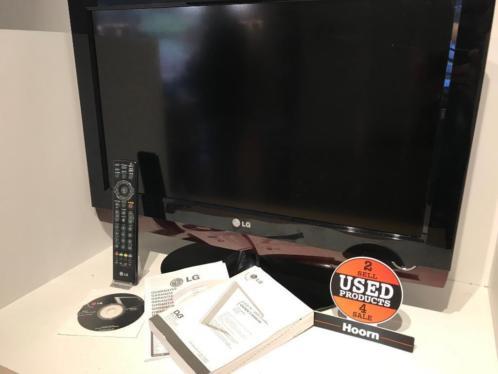 LG 26LG4000 26'' HD TV met DVD Speler en AB