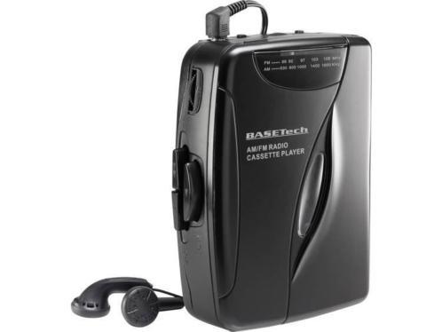 Basetech KW-118C Draagbare cassettespeler