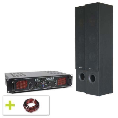 SkyTronic 700W HiFi geluidsset met Bluetooth versterker en H
