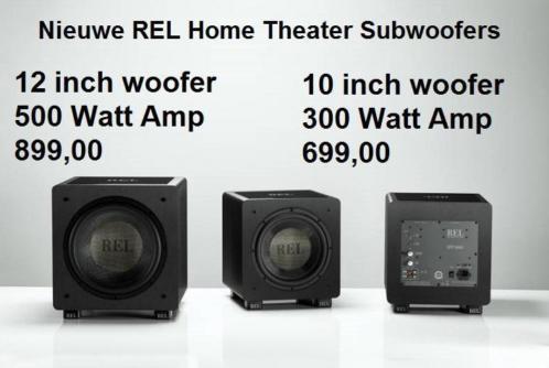 Nieuwe serie REL subwoofers speciaal voor Home Theater