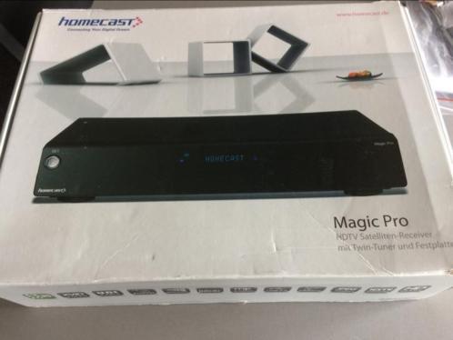 Satelliet ontvanger pvr Homecast Magic Pro, defect.