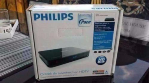 Philips DSR7141 HDTV Canal digitaal Compleet in verpakking
