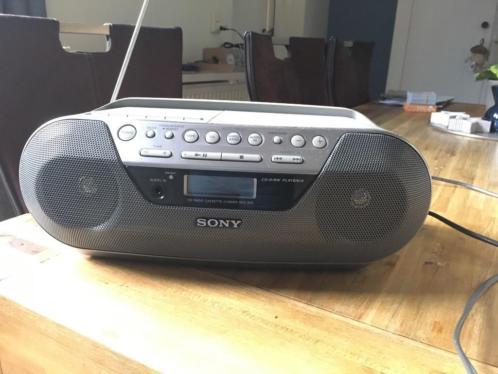 Sony CFD-S05 - Digitale Radio-/Cd-/Cassette-speler