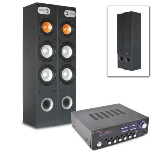 Fenton Stereo HiFi installatie incl. versterker, speakers en