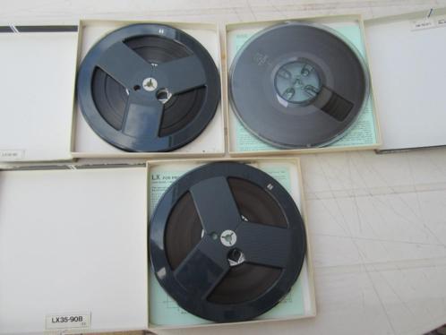 3 stuk bandrecorder banden t.d.k. 18 cm