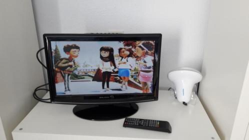 Salora tv met ingebouwde dvd speler